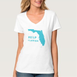 Help Florida after hurricane Irma T-Shirt