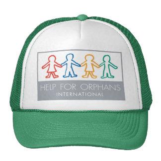 Help for Orphans Green/White Trucker Hat