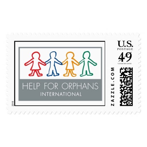 Help for Orphans International Postage Stamp