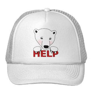 Help for Polar Bear Hat