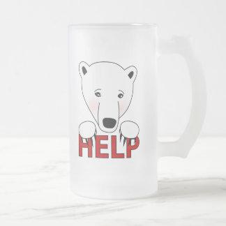 Help for Polar Bears Mug
