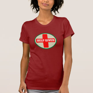 HELP GIVER RED CROSS T-SHIRT