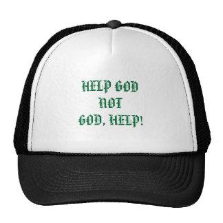 HELP GODNOTGOD, HELP! TRUCKER HAT