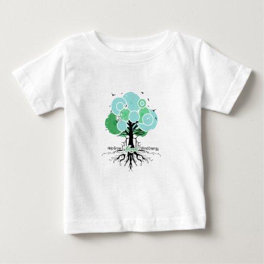 Help grow wind energy.  Windsmiths Baby T-Shirt