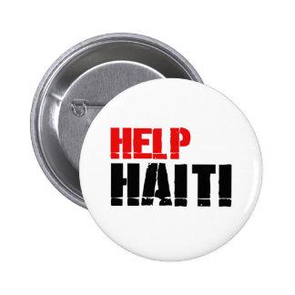 HELP HAITI 3 BUTTON