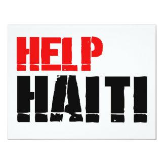 HELP HAITI 3 INVITE