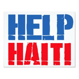HELP HAITI 4 ANNOUNCEMENTS