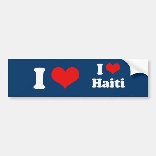 HELP HAITI BUMPER STICKERS