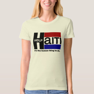 Help Haiti CHARITY DESIGN T-Shirt