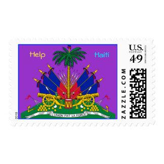 Help Haiti Effort Stamp