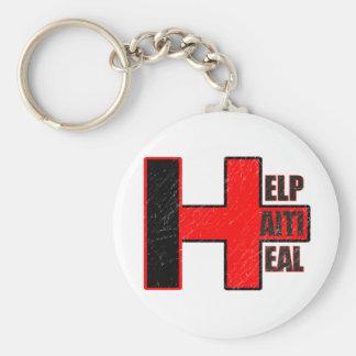 Help Haiti Heal Keychain