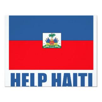 HELP HAITI PERSONALIZED INVITATIONS