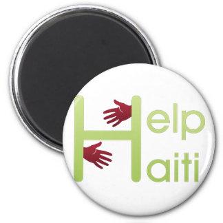 help haiti refrigerator magnet
