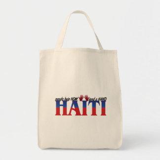 help haiti tote bag
