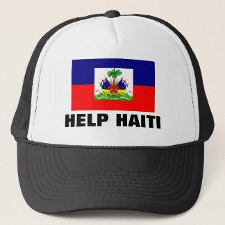 HELP HAITI TRUCKER HAT