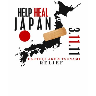 HELP HEAL JAPAN #3 shirt