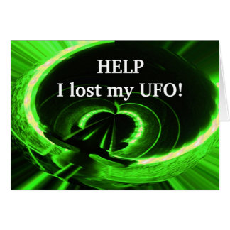 Help I Lost my UFO Funny Cards for husbands
