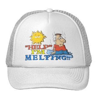 """HELP"" I'm Melting Trucker Hats"