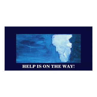 HELP IS ON THE WAY CARD