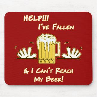 Help I've Fallen (dk) Mouse Pad