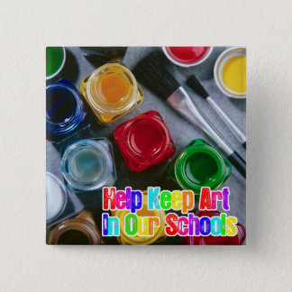Help Keep Art in Our Schools! Button