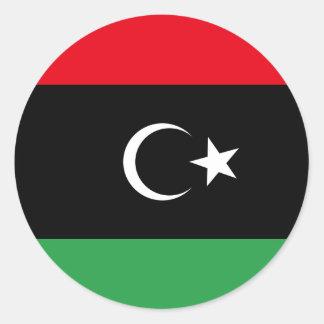 Help Libya Classic Round Sticker