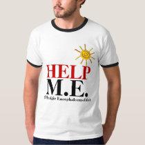 HELP M.E. (Myalgic Encephalomyelitis) T-Shirt