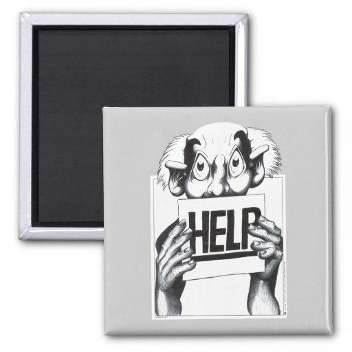 Help Refrigerator Magnet