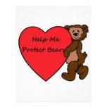 HELP ME SAVE BEARS LETTERHEAD DESIGN