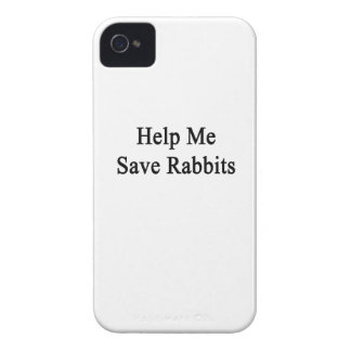 Help Me Save Rabbits iPhone 4 Cover