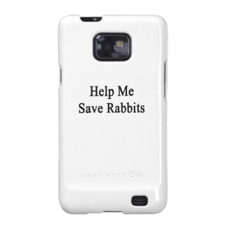 Help Me Save Rabbits Samsung Galaxy SII Case