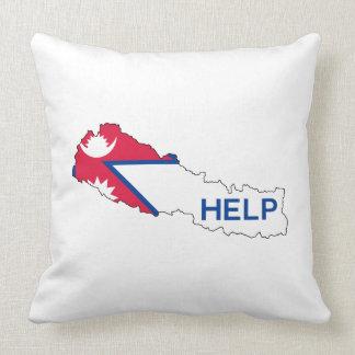 Help Nepal! Pillow