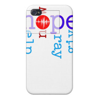 Help Now Pray Give Japan iPhone 4/4S Case