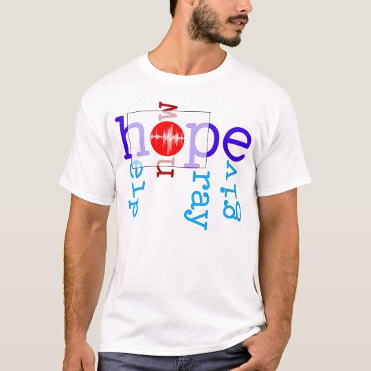 Help/Now/Pray/Give Japan T-Shirt