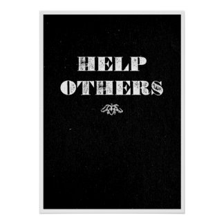 Help Others Poster