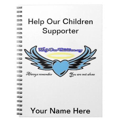 Help Our Children Notebook