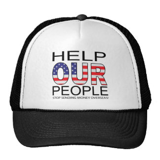 Help OUR People Trucker Hat