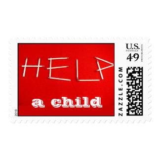 Help postage stamp
