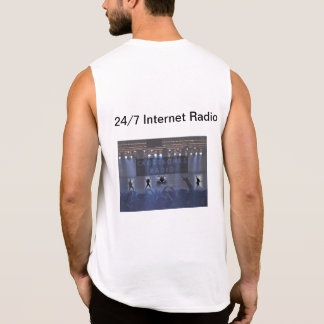 Help promote our radio station!!!! sleeveless t-shirts