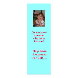 Help Raise Awareness F... Mini Business Card