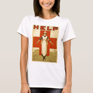 Help Red Cross Nurse T-Shirt