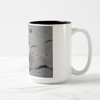 Help! Rock on the Beach Two-Tone Coffee Mug