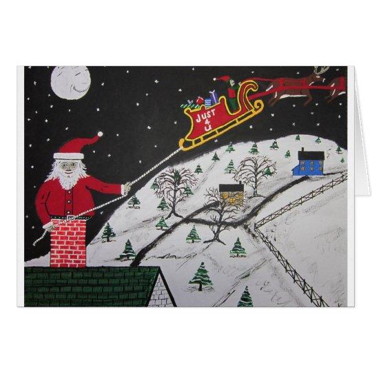 Help Santa's Stuck Card