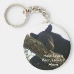 Help Save a Bear, Leave it Alone Key Chain