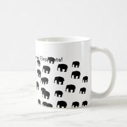 Help Save Endangered Elephants Coffee Mug