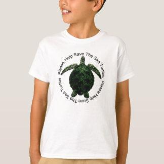 Help Save Endangered Sea Turtles T-Shirt