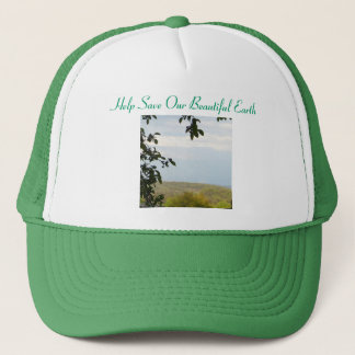Help Save Our Beautiful Earth Trucker Hat