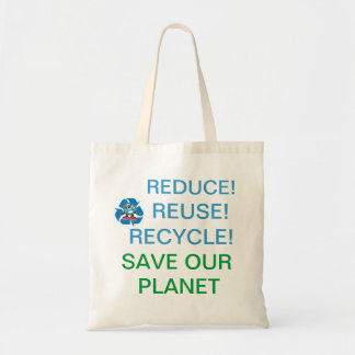 Help save our planet! tote bag