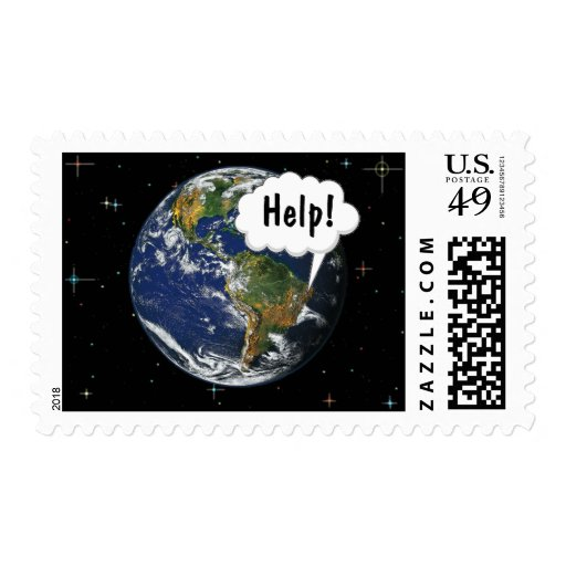 Help! Save the Planet Stamps