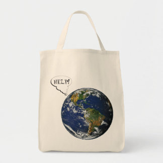 Help! Save the planet Tote Bag